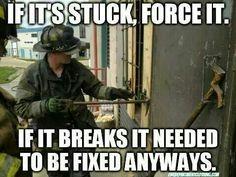 Firefighter humor...