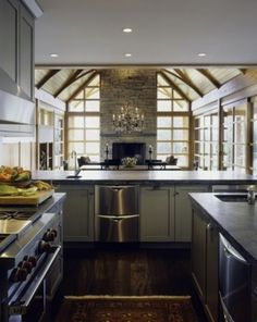 Rustic Modern Kitchen Design 2014