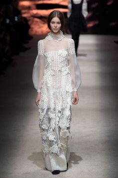 Alberta Ferretti. See all the best looks from Milan fashion week fall 2015.