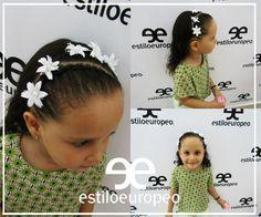 En nuestra sala Junior las chiquitas lucirán hermosas con peinados diseñados especialmente para princesas.  Calle 10 # 58-07 B/ Santa Anita PBX 3104444 ¡Dale a tu #Viernes un toque de nuestro Estilo Europeo!