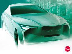 BMW sketch by Tomas Beres