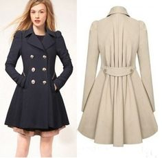 """Fashion women trench coat CuteKawaiiHarajukuFashionClothing&AccessoriesWebsite.SponsorshipReview&AffiliateProgramopening!so fashion and warm coat really such a pretty use this coupon code """"cute8"""" to get all 10% off shop now for lowest price."""