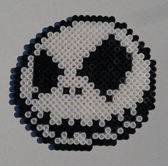 jack skellington perler bead patterns | Nightmare Before Christmas Perler Beads