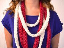 Collar Tejido - Bufanda Collar