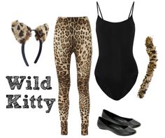 Wild Kitty Costume for Halloween