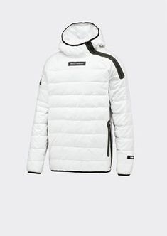 3d2ad4c71d7e Unique style quilted down unisex jacket made of nylon fabric with bonded  zipper and hood underline