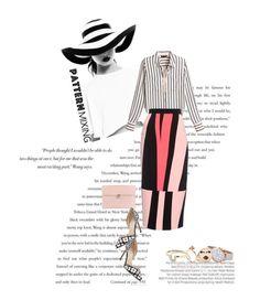 """Pattern Mix Master..."" by unamiradaatuarmario ❤ liked on Polyvore featuring Balenciaga, Alexander McQueen, Manolo Blahnik, White House Black Market, Roksanda, Oasis, Alison Lou and patternmixing"