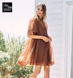 Saks Fifth Avenue, Dresses With Sleeves, Long Sleeve, Fashion, Moda, Sleeve Dresses, Long Dress Patterns, Fashion Styles, Gowns With Sleeves