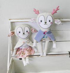 deer dolls / Břichopas toys