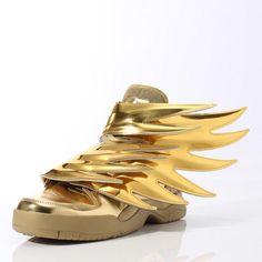 best service e4ef3 4d2ec Jeremy Scott x adidas Originals Wings 3.0 Go Gold