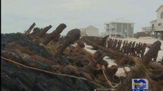 Alabama Shipwreck uncovered because of Hurricane Isaac