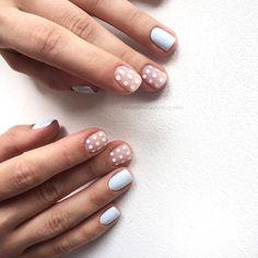 Semi-permanent varnish, false nails, patches: which manicure to choose? - My Nails Hair And Nails, My Nails, Nagel Tattoo, Nail Decorations, Perfect Nails, Blue Nails, Short Nails, Trendy Nails, Halloween Nails