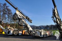 Drill rig http://www.ito-germany.de/kaufen/mine-master   Mine master used for sale #Mining #Tunneling #Scooptram #Sandvik #Tamrock #Atlas Copco