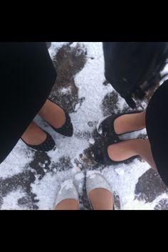 Snowing at Teenpact
