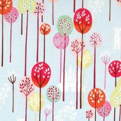 Alexander Henry Enchanted Forest Sky | Fabric | Fabrics to Inspire - Kelani Fabric