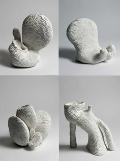 * Lone Skov Madsen was born in She lives and creates her beautiful work in Copenhagen. I'm fascinated by the rich textures on her pieces. Here you can see some pictures of her creative… Sculpture Projects, Sculpture Clay, Ceramic Pottery, Ceramic Art, Organic Ceramics, Land Art, Art Object, Some Pictures, Art Inspo
