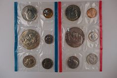 2011 P D Presidential Dollar 5 Sets In Mint Cello BU 40 US Coin Lot