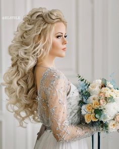 Wedding Hairstyles Down Awesome 11 Beautiful Wedding Hairstyles Down For Brides And Bridesmaids
