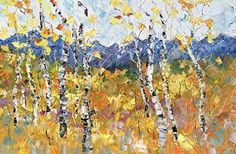 """FRESH OFF THE EASEL....   20""""x30"""" Palette Knife Oil Painting/Available   Click HERE for purchase info.     JudithBabcockFineArt.co..."""