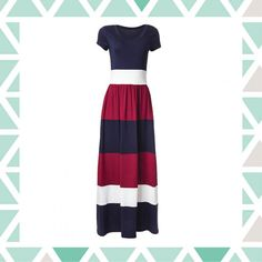 Vestido longo | Bella Fashion | Feira Shop