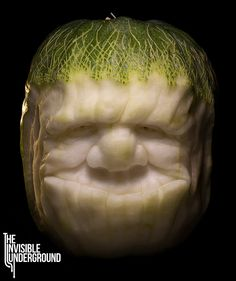 Big Eater - winter melon carving