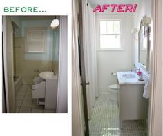 Small Bathroom Redo Tips