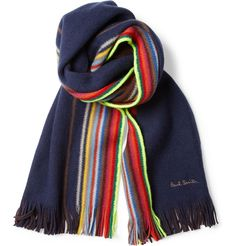 Paul Smith Shoes & AccessoriesStriped Wool Scarf MR PORTER