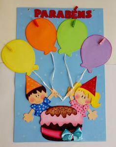 Classroom Birthday, Art Classroom, Creative Birthday Cards, Thankful Tree, Kitty Games, Paper Flowers Diy, Easter Crafts For Kids, Kids Corner, Baby Shark
