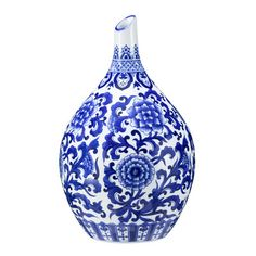 Bombay Heritage Scroll Vase