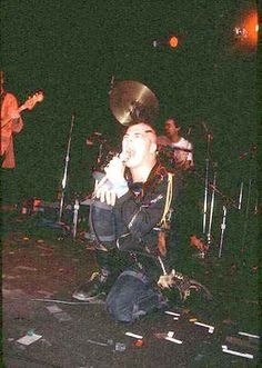 Darby Crash at the Starwood