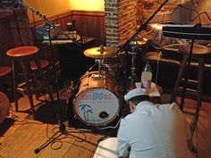 All ready to rock at the Doghouse in Norwich 21.12.2014