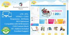 Kids Store - OpenCart Responsive Theme (OpenCart)