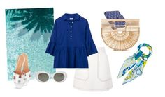 """Riviera Style"" by moakarlsvard on Polyvore featuring Topshop, GANT, Goyard, Cult Gaia, Hermès and Acne Studios"