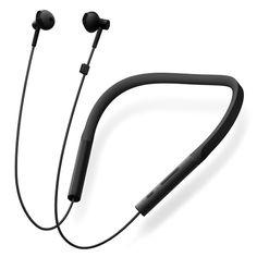 Original Xiaomi Mijia Youth Version Neckband Wireless Bluetooth Earphone HiFi Dynamic Sports Headphone with Mic Neckband Headphones, Gear Best, Sports Headphones, Headphone With Mic, Bluetooth Headphones, Mobiles, Smartphone, Coupon, Black