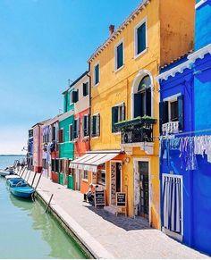 Burano ( ilha em Veneza), Itália