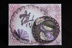 Yoshimi  **** Sister Stamps & Washi Paper  available from www.HankoDesigns.com ****