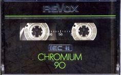 RAR !!! REVOX Chromium , Audiocassette , NEU , OVP !!!