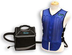 Veskimo Cooling Vest + 9 Qt. Hand-Carry Cooler