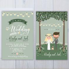 Must Love Dogs Wedding Invitation Set