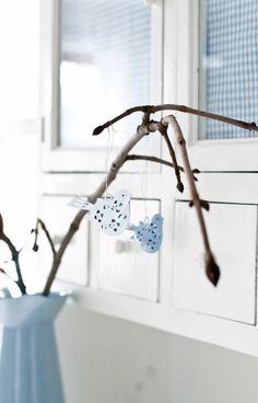 Minty House Blog  Do modra..........