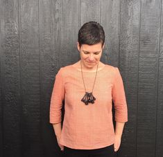 THE DRAPERY: Lotta Jansdotter's Esme Tunic from Everyday Style