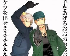 Hetalia- Prussia and Germany