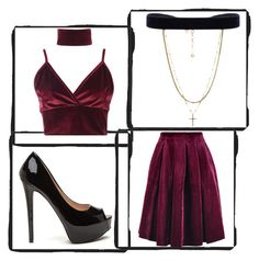 """Untitled #23"" by akansha125 on Polyvore featuring Maje, Boohoo and Vanessa Mooney"