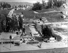 Auto Rest:  Glendale Blvd Silverlake 1920's .