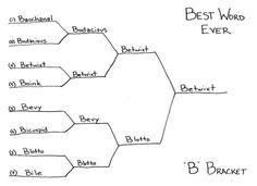 Best Word Ever - 'B' Bracket  http://tedmccagg.typepad.com/drawings/2012/07/best-word-ever-b-1.html