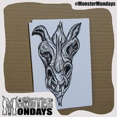 It continues... the creation of Monster Mondays No.3!! You can see it now!! What is it? -------- #MonsterMondays #monster #drawing #penandink #art #instaart #instaartist #artist #mentalhealth #mentalhealthawareness #anger #illustration #wip #lion #graphic #anxiety #depression #smashthestigma #stigmafighter #suicideawareness #mentalhealthmatters #recoveryispossible #mentalhealthrecovery
