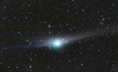 Another Tail for Comet Garradd (Mar 3 2012)  Image Credit & Copyright: Olivier Sedan (Sirene Observatory) Remarkable comet Garradd (C2009/P1) has come to be known for two distinctive tails. From the perspective of earthbound comet watchers the tails are visible on opposite sides of its greenish coma. Seen here in a telescopic view, the recognizable dust tail fans out to the right, trailing the comet nucleus in its orbit.