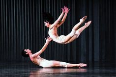 Brazilian dance company Grupo Corpo perform Onqotô - one of two works they will perform - for the 2012 New Zealand International Arts Festival.