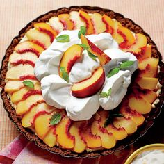 Peach Divinity Icebox Pie - Quick Summer Pie Recipes - Southern Living