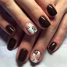 nails Beautiful nails 2016 Brown and white nails Brown nails Chocolate nails Fashion nails 2016 Manicure by summer dress Nails ideas 2016 Brown Nails, White Nails, Brown Nail Art, Yellow Nails, White Glitter, Stylish Nails, Trendy Nails, Fancy Nails, My Nails